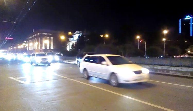 ЧМ-2018.-Россия-Испания-43.-Новосибирск-Красный-проспект-полночь.